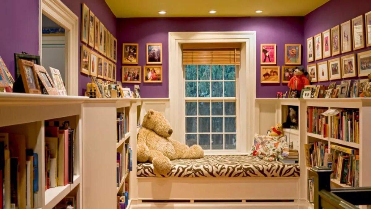 Дитяча кімната: приклади стильного інтер'єру з фото