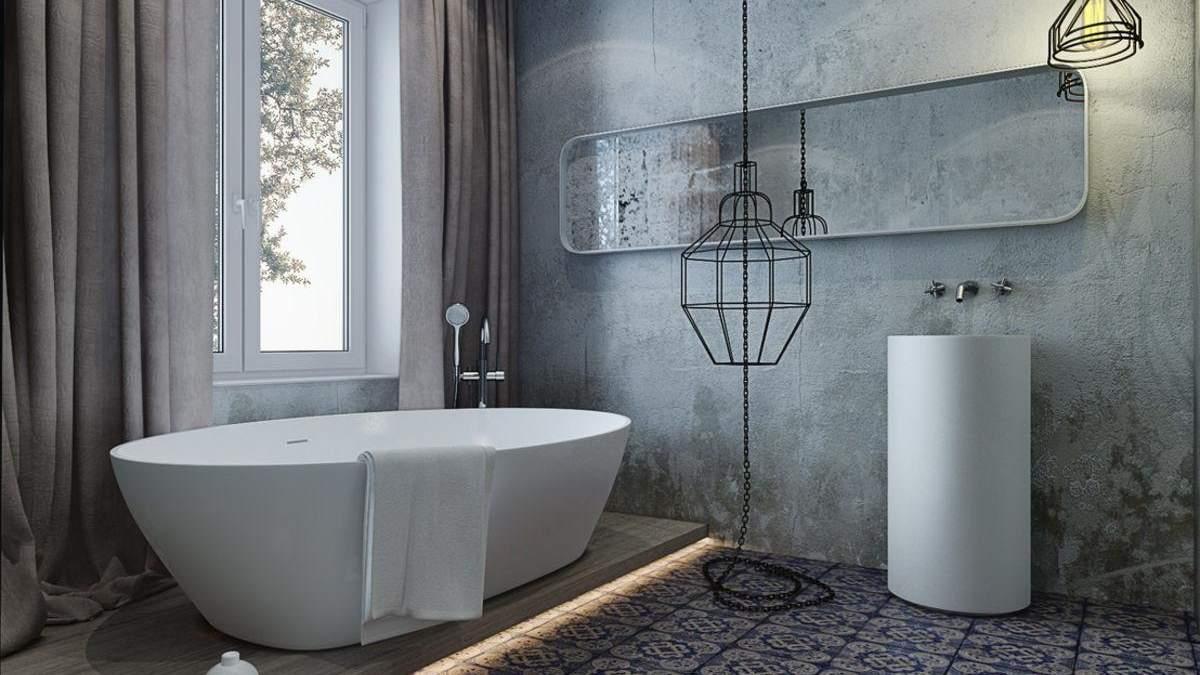 Отделка стен в ванной комнате: 7 необычных материалов
