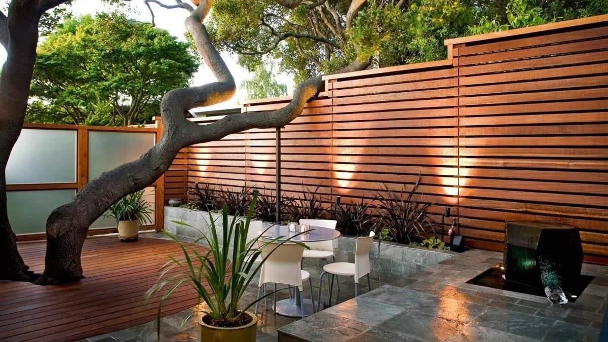Красиві дизайни внутрішніх дворів: фото затишних двориків
