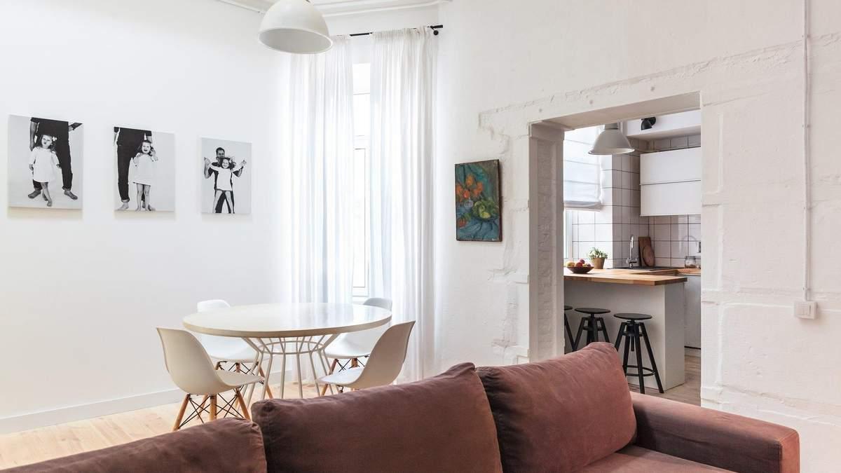 Квартира архитектора в Одессе: два этажа, терраса и стильный минимализм – фото интерьеров
