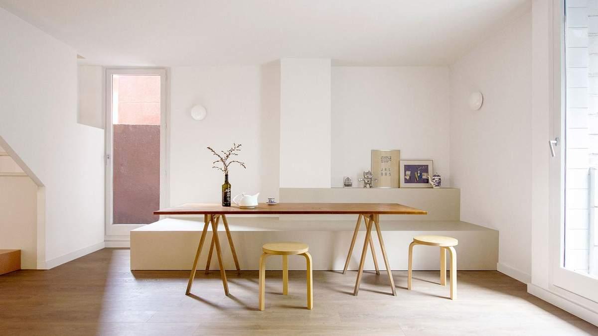 Геометрія кіл, що заворожує: фото нестандартного інтер'єру квартири в Барселоні