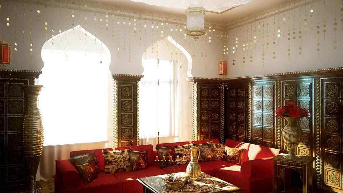 Подушки в интерьере: как выглядит декор в марокканском стиле