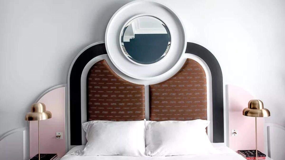 Криві меблі та химерні форми: 7 розкішних спалень у стилі арт-деко – фото