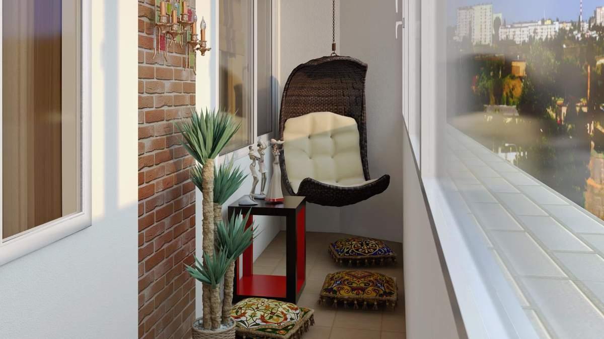 Балкон як кімната: 5 ідей для облаштування заскленого балкону