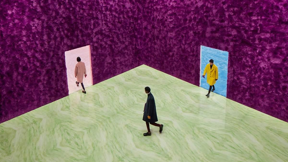 4 комнаты для Prada: дизайнер создал интерьер для модного показа