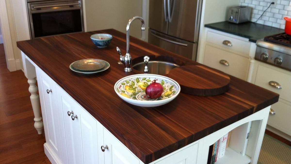 Стільниці для кухні: види стільниць і яку обрати