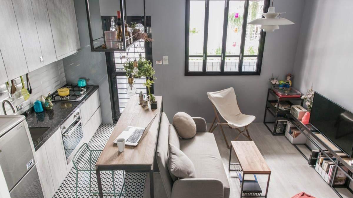 Маленька квартира-студія: як облаштовують такі помешкання закордоном