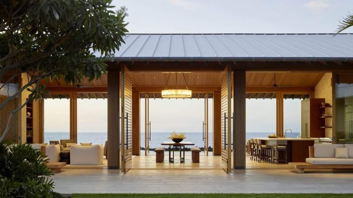 Дом для отдыха на Гавайях фото роскошного имения