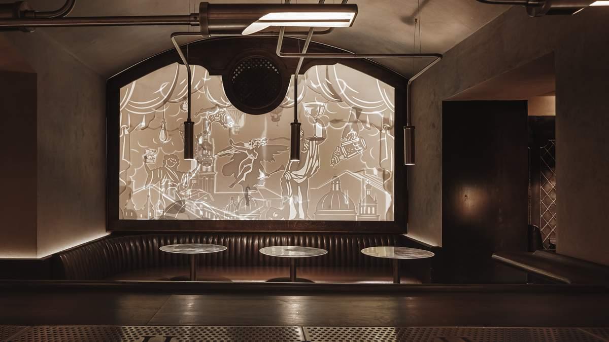 Новий заклад Hendrick's Bar Lviv: фото оригінальних інтер'єрів