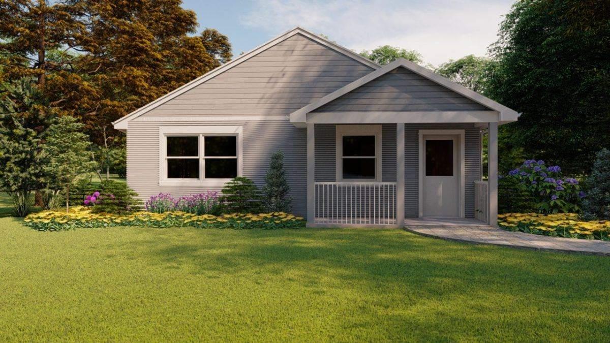 Дом на 3D-принтере: в США продают оригинальное сооружение