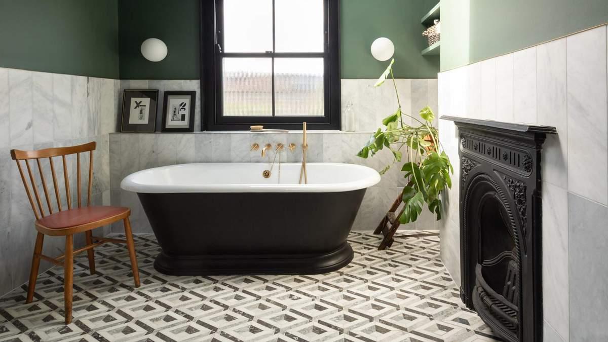 Отдельно стоящая ванна: 5 примеров интерьера от дизайнеров