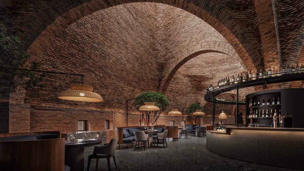 Гніздо термітів: у круглих будівлях в Китаї зробили сучасний ресторан – фото