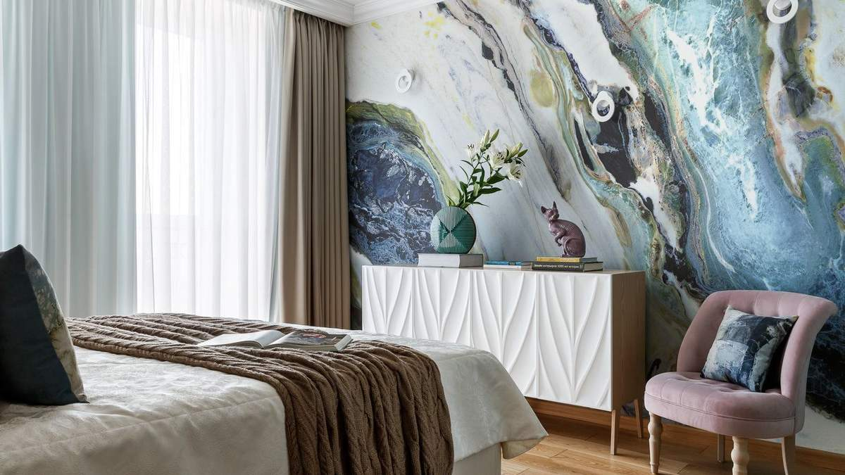 Акцентна стіна в інтер'єрі: стильне рішення для сучасних квартир – фото прикладів