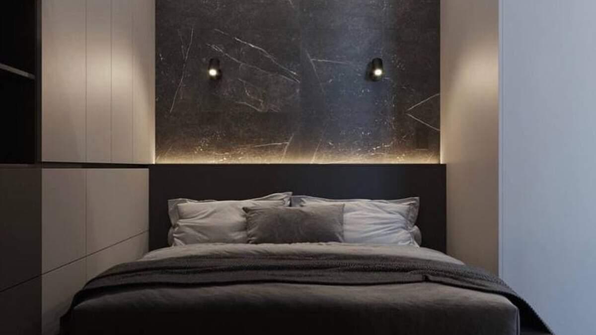 Спальня площею 7 метрів: приклад оформлення
