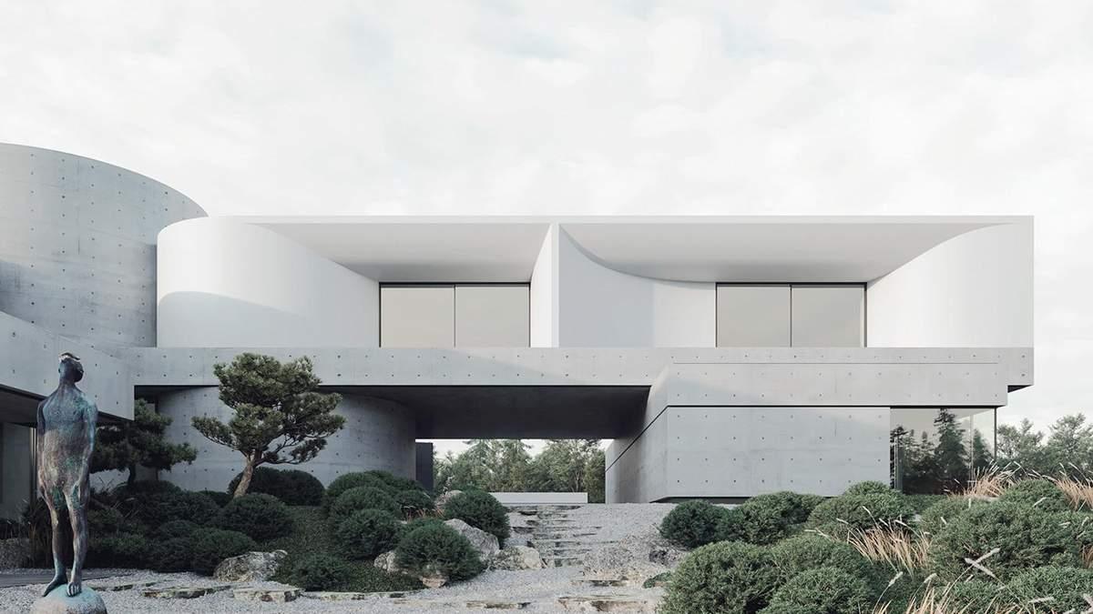 Viter House – новий будинок під Києвом, натхненний стихіями: фото проєкту Сергія Махна