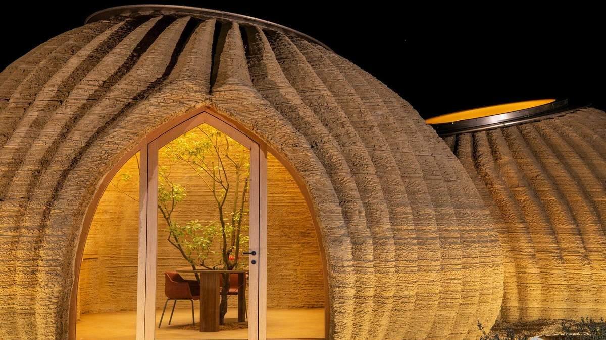Надрукований на 3D-принтері: як виглядає неймовірний екобудинок із глини в Італії – фото