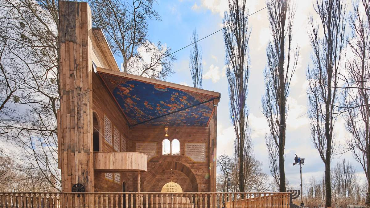 Синагога у Бабиному Яру, що відкривається, як книга: неймовірні фото
