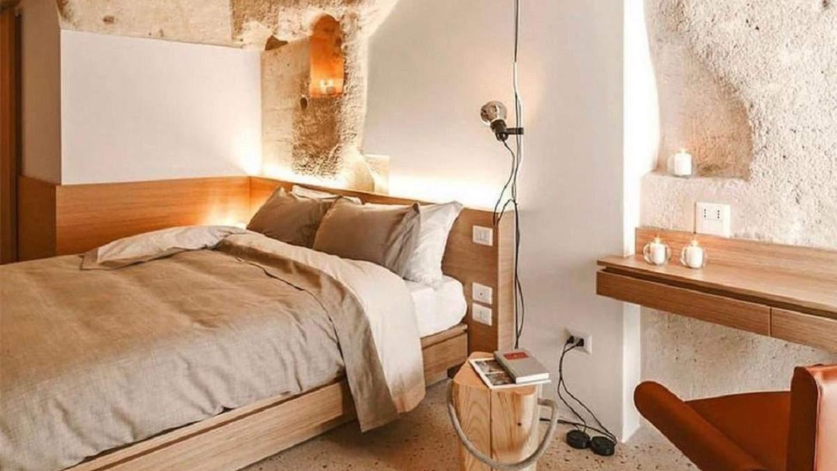 Исторический отель в пещере на юге Италии: фото интерьера, что поражает