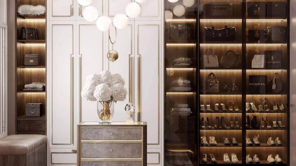 На что следует обратить внимание при планировании гардеробной комнаты: 10 советов дизайнера