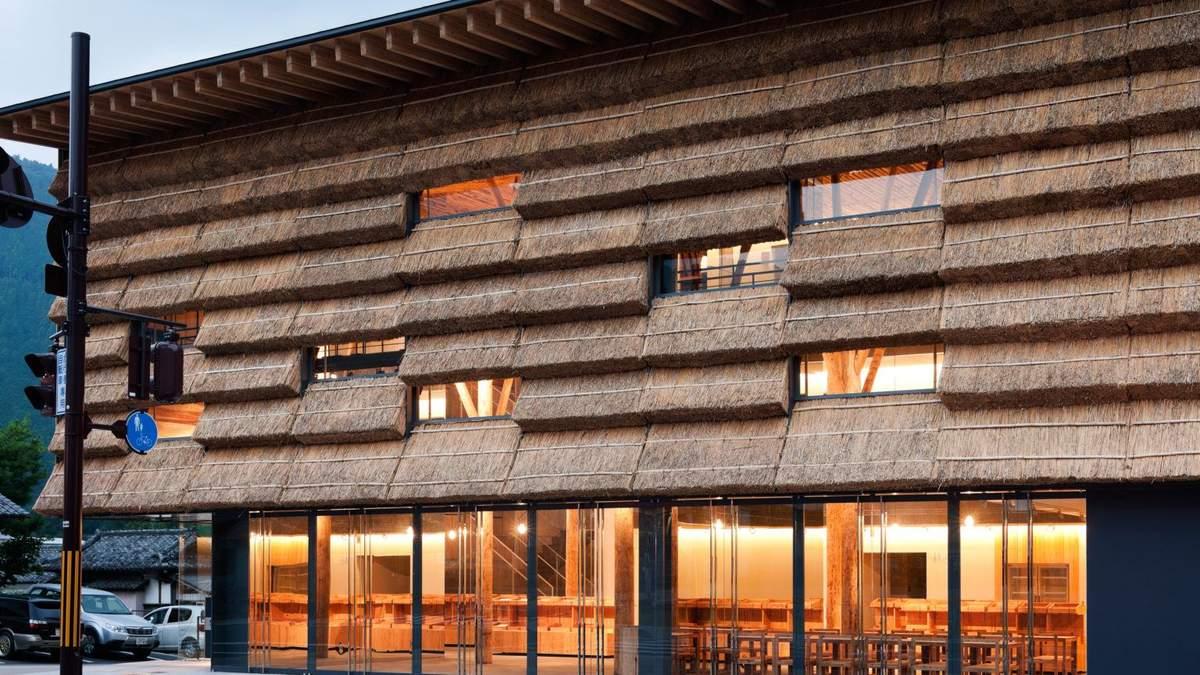 Соломенные крыши в архитектуре 21 века