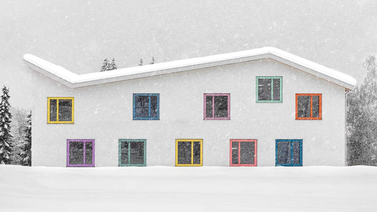 Архитектура будущего: как выглядит детский сад в Южных Альпах