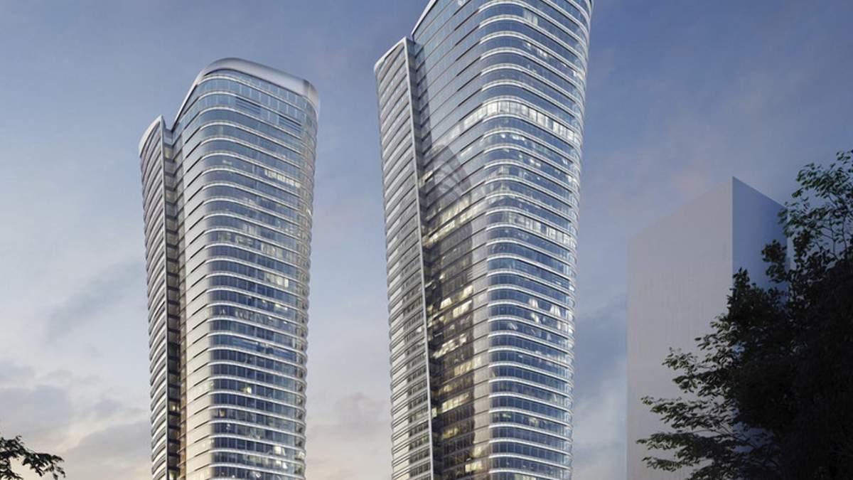 Инновации строительства: в Стамбуле завершают проект удивительных башен-близнецов