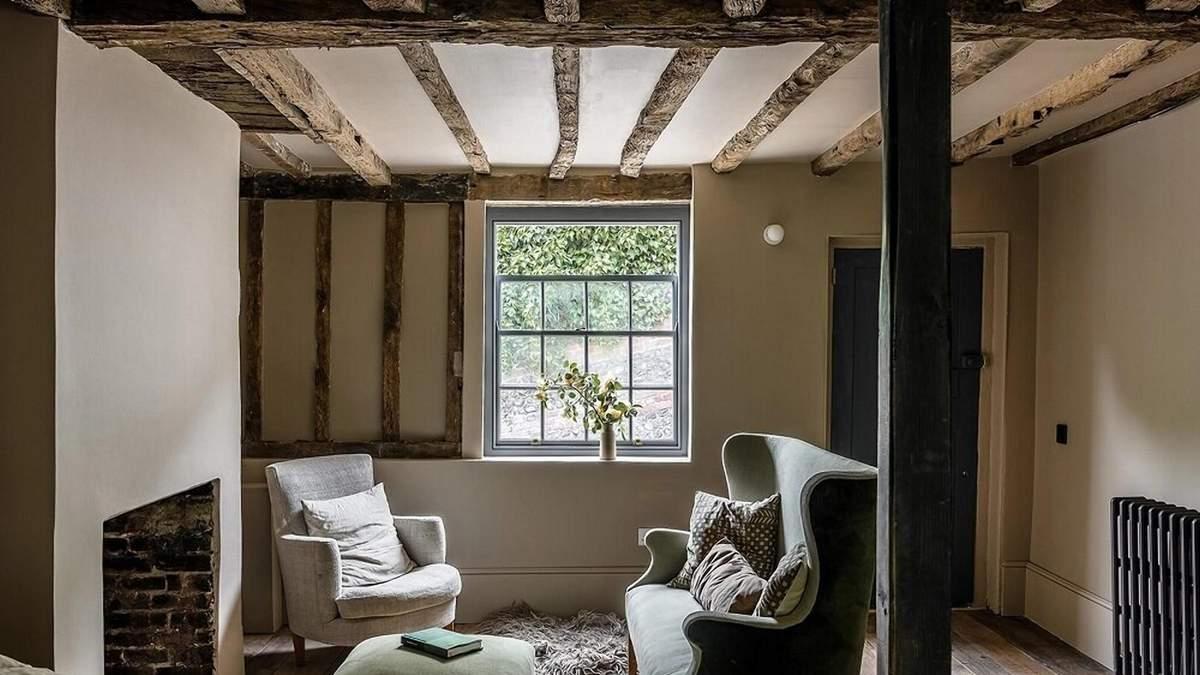 В Англії реставрували котедж 17 століття: дивовижні фото