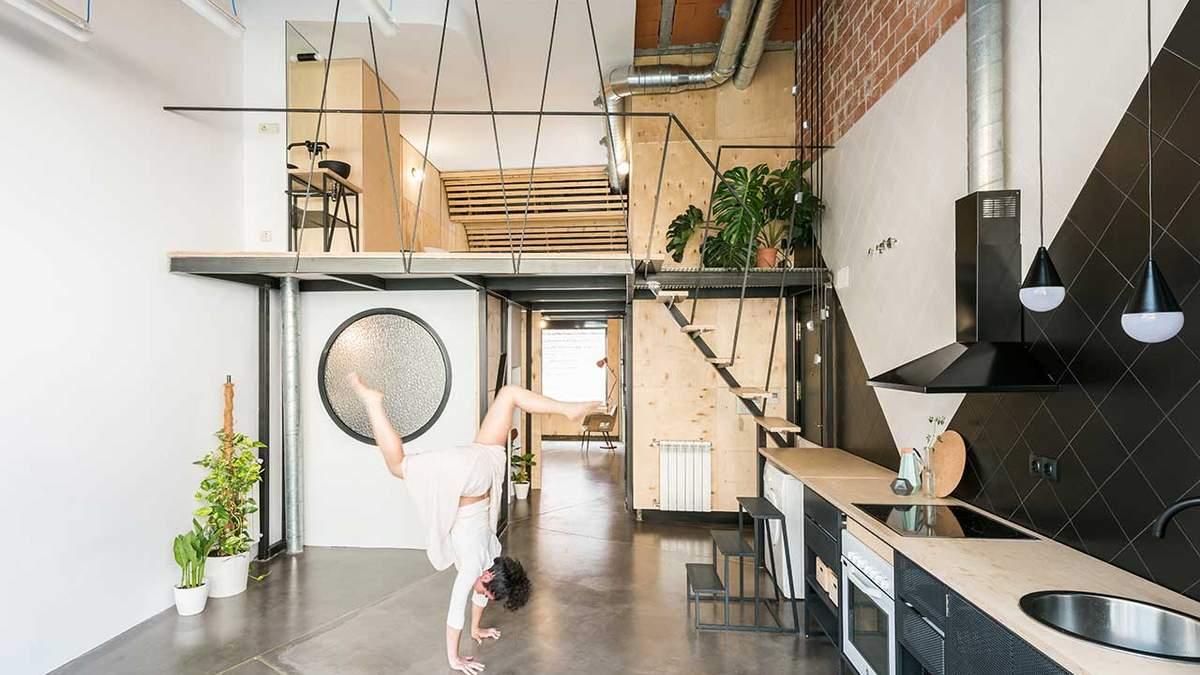 Квартира в Мадриде, что поражает своей функциональностью: фото
