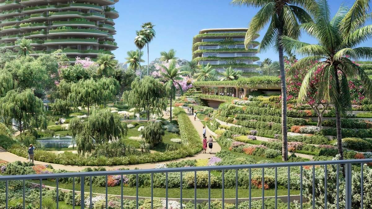 Зеленый сад в звездном районе: в Беверли-Хиллз реализуют невероятный проект