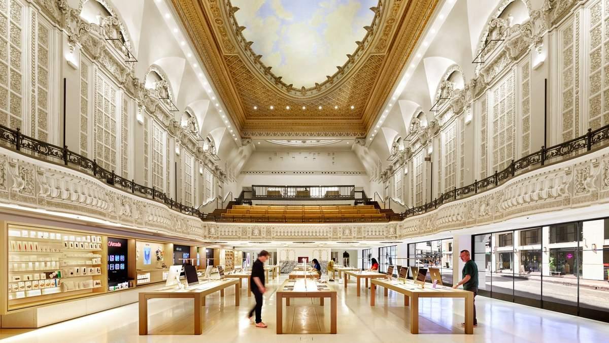 Театр технологий: Apple открыл фантастический магазин в Лос-Анджелесе
