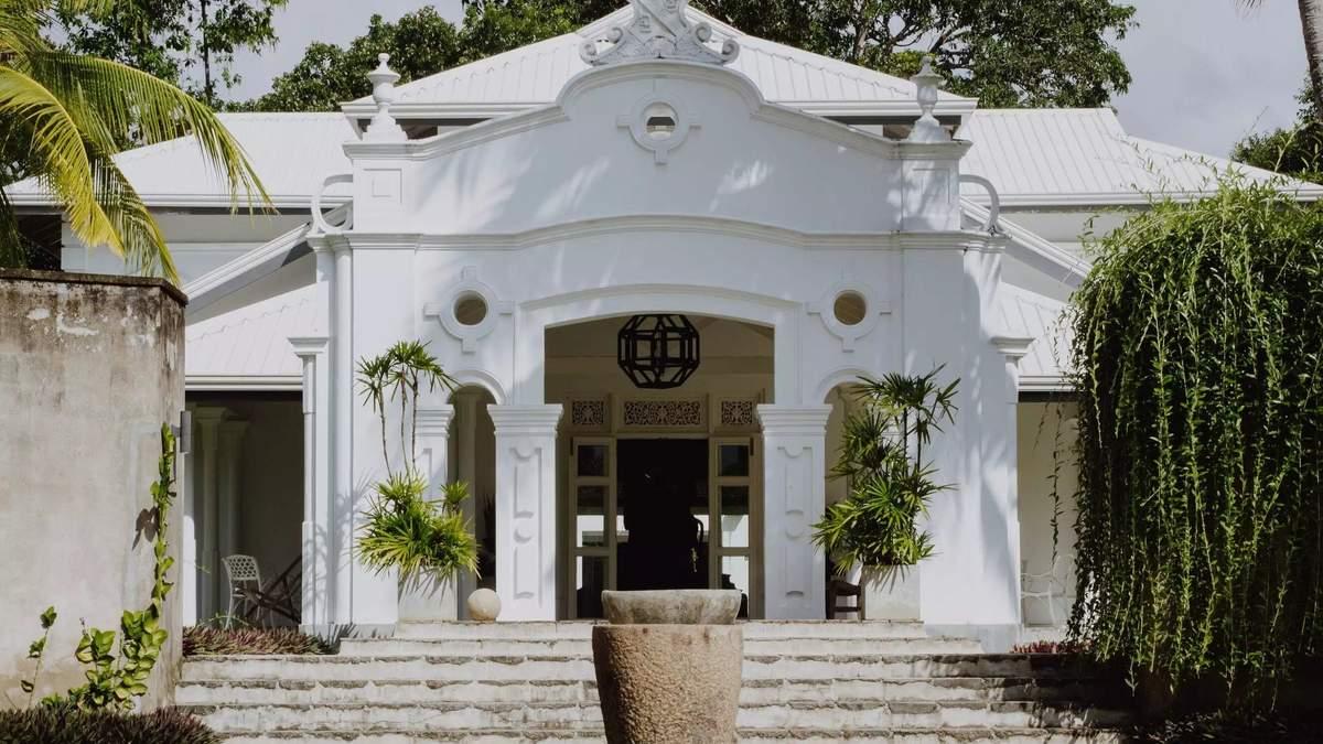 Компанія друзів відновила занедбаний особняк на Шрі-Ланці