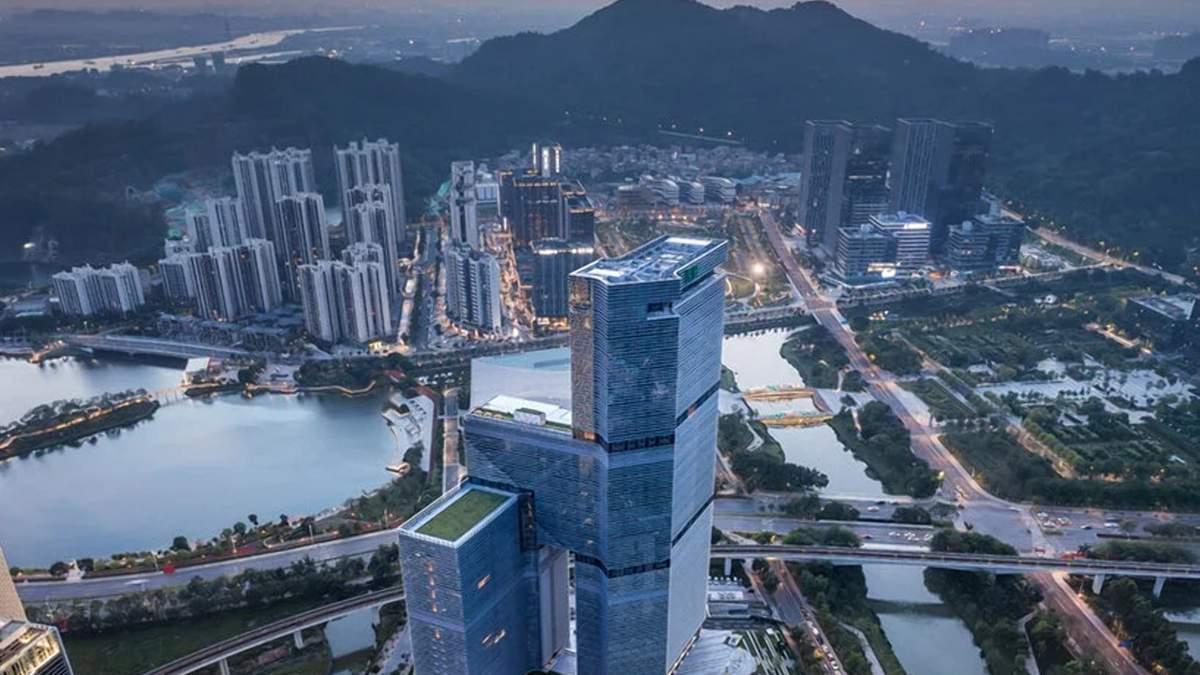 Помпезний шик: у Китаї завершується будівництво неймовірної вежі - Дизайн 24