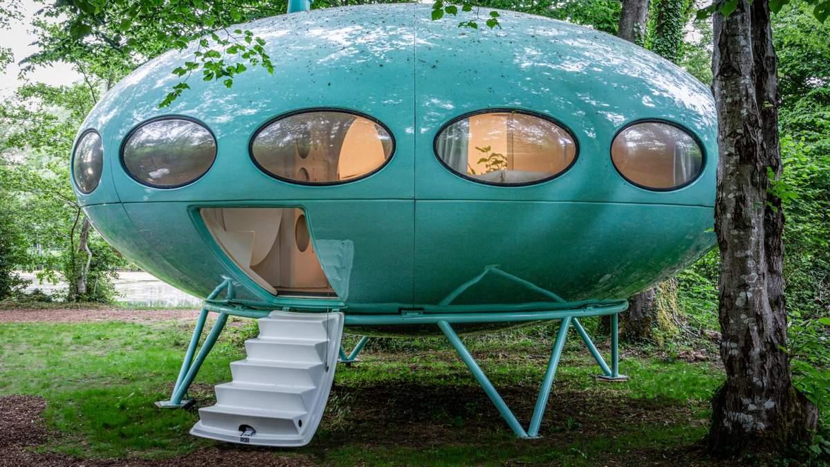 Отдохнуть в космическом корабле: футуристический дом 1960-х годов - Дизайн 24