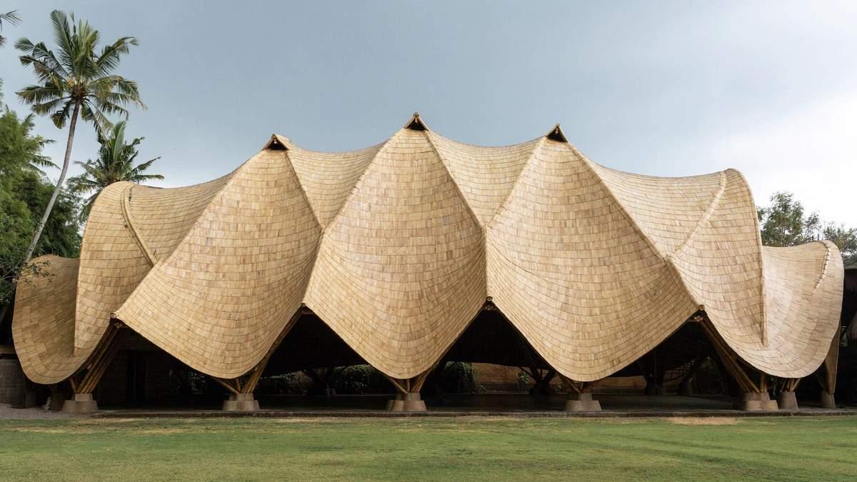 Бамбукова арка: на Балі завершили будівництво унікального шкільного простору - Дизайн 24