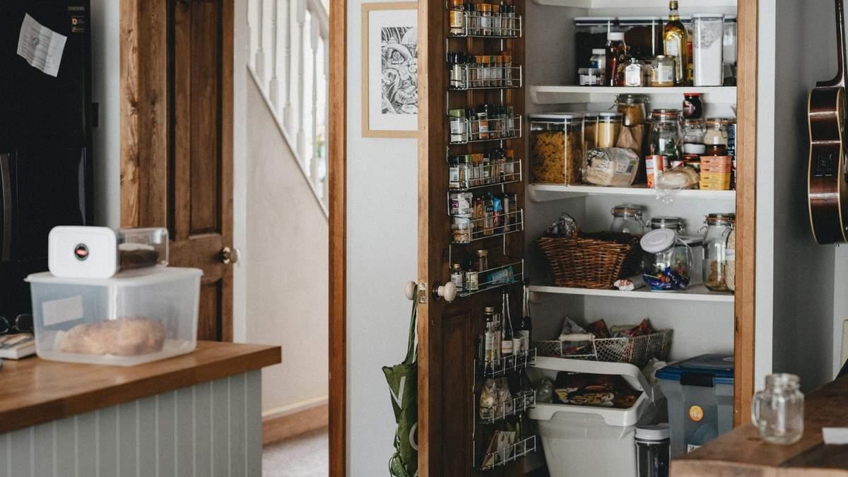 Идеи кухонных кладовых
