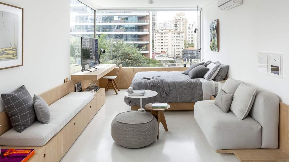 37 квадратних метрів та максимум функціональності: як виглядає однокімнатна квартира студента - Дизайн 24