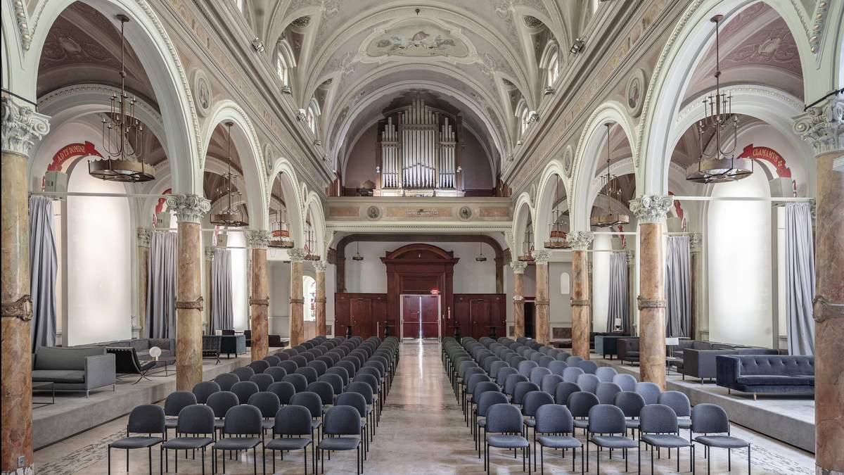 Украинское архитектурное бюро превратило калифорнийскую церковь в современный культурный центр - Дизайн 24