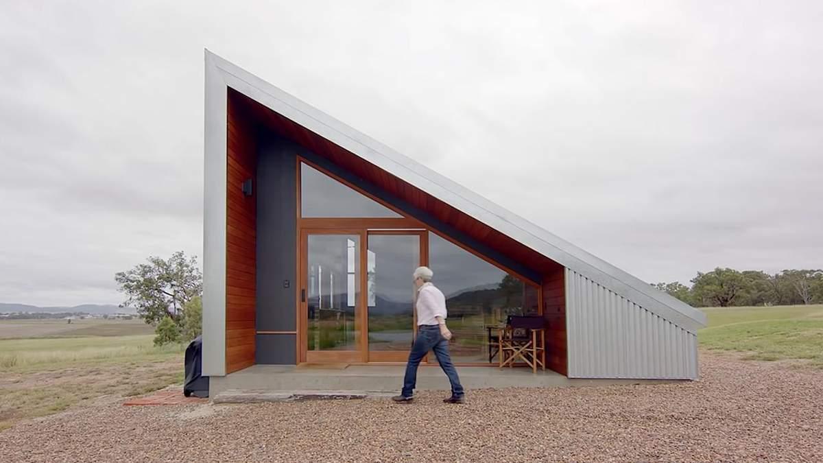 40 квадратов, используемых на максимум: как выглядит крошечный дом из переработанных материалов - Дизайн 24