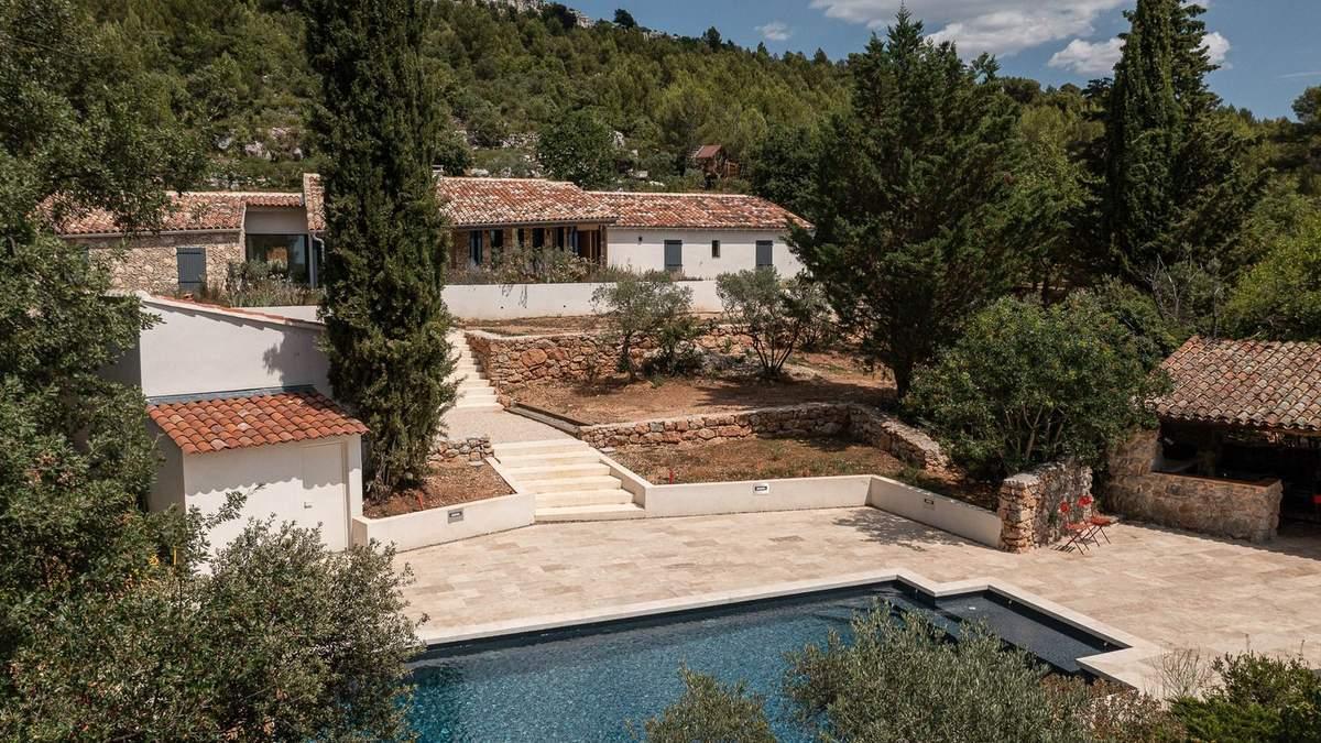 В тени гор Прованса: уютная вилла, которая сочетает классику и современность - Дизайн 24