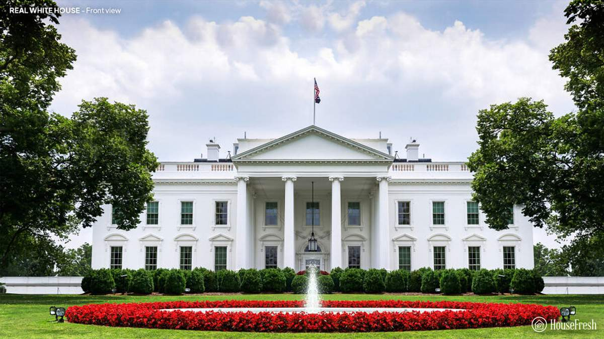 Как мог выглядеть Белый дом: уникальные проекты архитекторов, которые остались вне истории - Дизайн 24