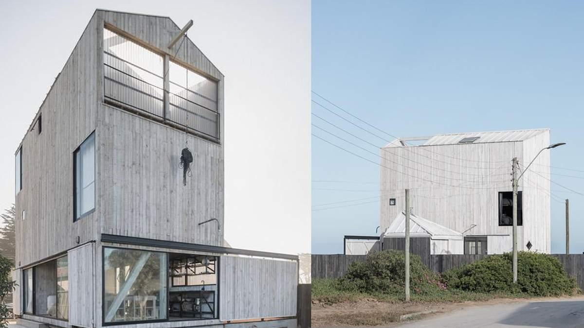 110 квадратных метров для 4-х семей: как выглядит компактная пляжная резиденция в Чили - Дизайн 24
