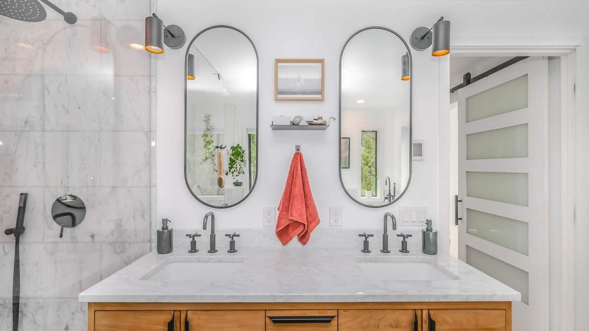 Как освежить ванную комнату: 10 оригинальных зеркал для любого стиля интерьера - Дизайн 24
