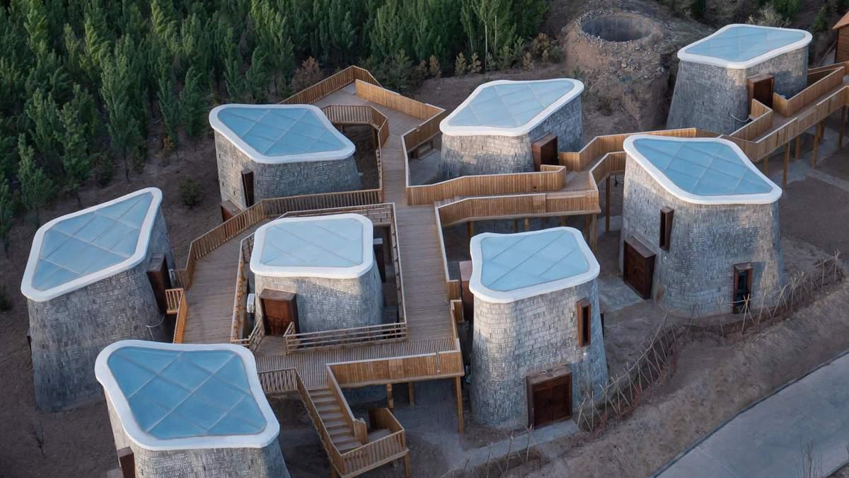 Жизнь пещере: невероятный проект в Китае - Дизайн 24