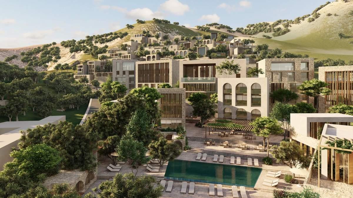 Розкішна архітектура: на узбережжі Албанії зведуть неймовірний готель - Дизайн 24