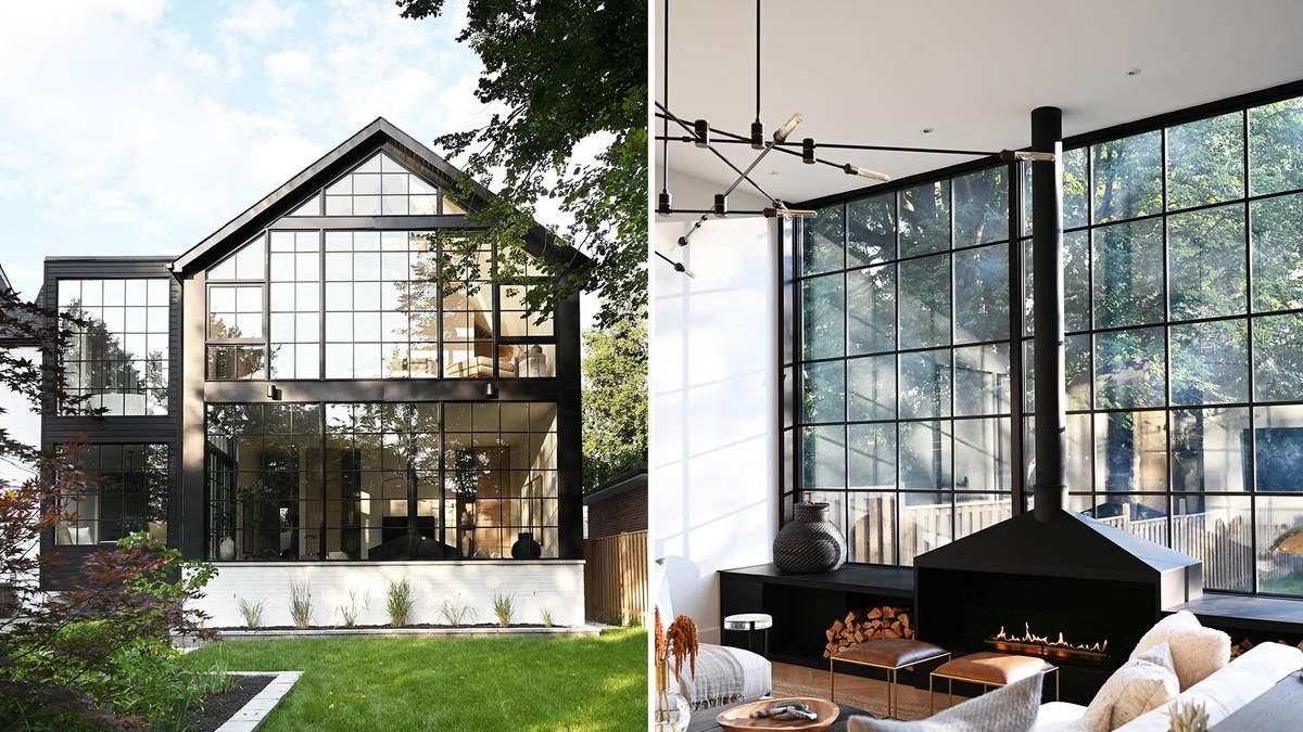Удивительная сетка: как большие окна изменили обновленный дом - Дизайн 24