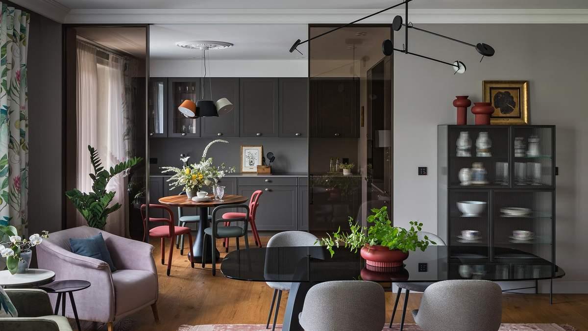 Дух 60-х: інтелігентний інтер'єр квартири у центрі Мінська - Дизайн 24
