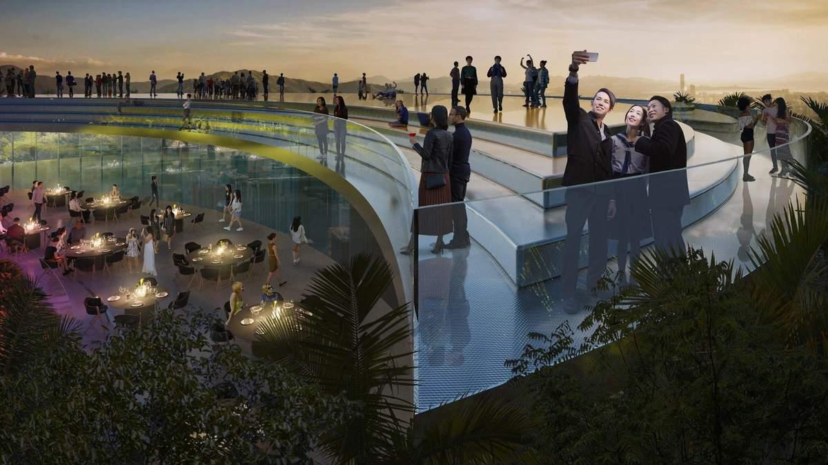 Зеленый небоскреб: в Китае появится экологическая высотка будущего - Дизайн 24