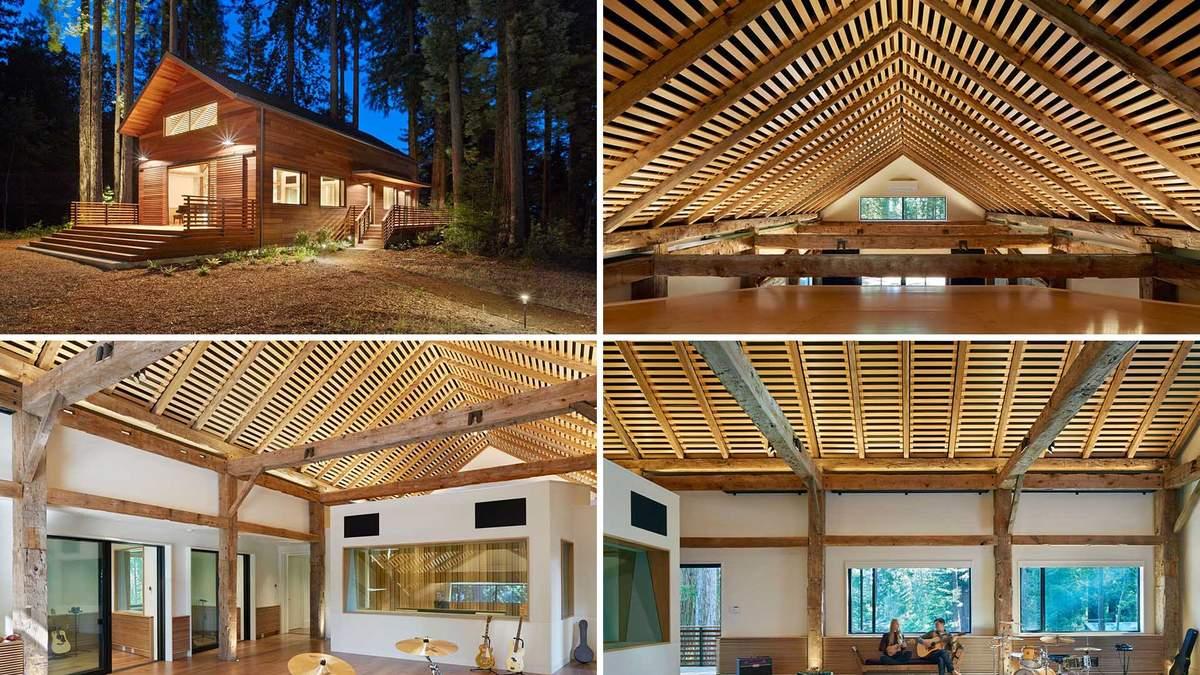 Магия музыки: в Калифорнии построили невероятную студию звукозаписи - Дизайн 24