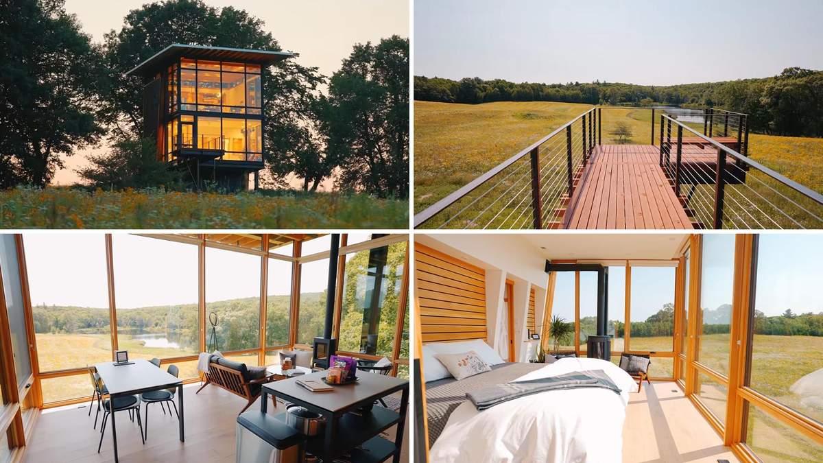 Дерево и панорамы: в США предлагают отдых на фантастическом фермерском угодье - Дизайн 24