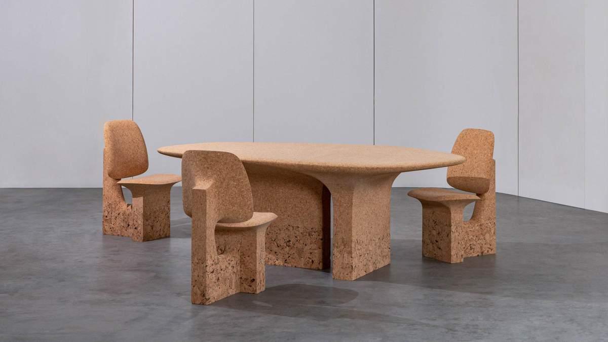 Дизайнер виготовляє меблі з кори дерев, які постраждали через лісові пожежі - Дизайн 24